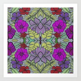 Psychedelic Spring Art Print