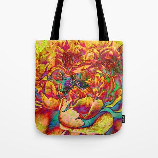 abstract peony Tote Bag