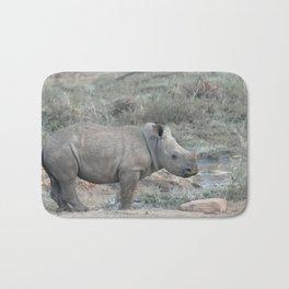 Baby White Rhino Bath Mat