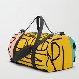 Strange alphabet Duffle Bag