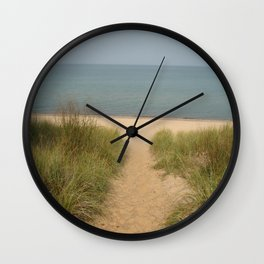 beach time Wall Clock