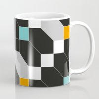 depeche mode Mugs featuring Mode duex by blacknote