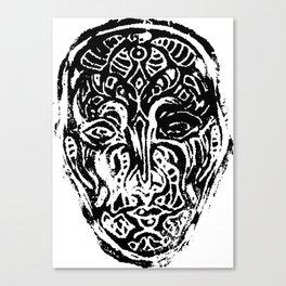 Vizard - Mask Canvas Print