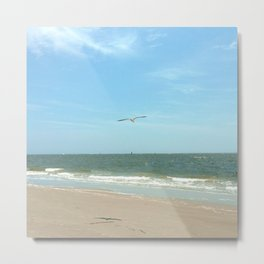Riding the Current Metal Print