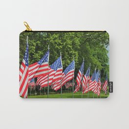 Flags Flying in Memoriam II Carry-All Pouch