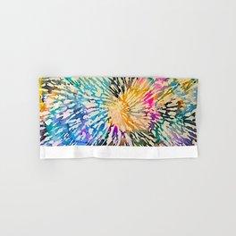 Multi Color Explosion Hand & Bath Towel