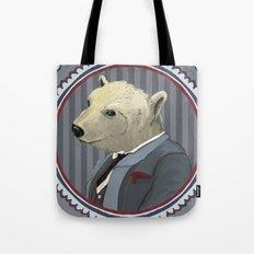 Mr. Polar Bear Tote Bag