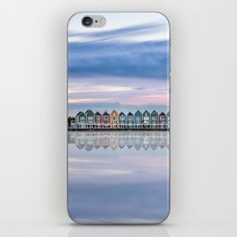 Rainbow houses in Netherlands iPhone Skin