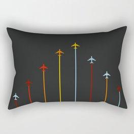 Retro Airplanes 07 Rectangular Pillow