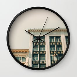 Urban Details Wall Clock