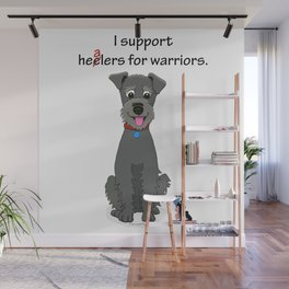 Schnoodle Supporting Healers Wall Mural