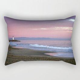 Santa cruz lighthouse Rectangular Pillow