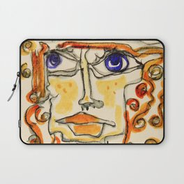 Of Lines and Swirls and Twirls and Curls Laptop Sleeve