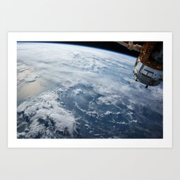 NASA Earth Print Art Print