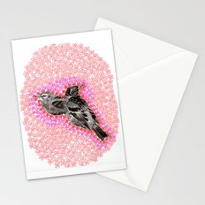 mother bird Stationery Cards