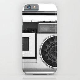 cassette recorder / audio player - 80s radio iPhone Case