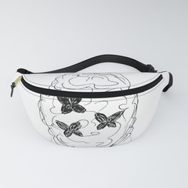 Keep it simple (black&white) Fanny Pack