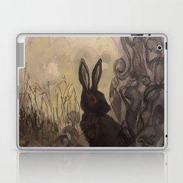 Black Rabbit of Inle Laptop & iPad Skin