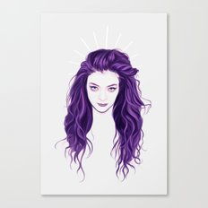 Lorde Canvas Print