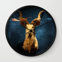 Taxidermia Wall Clock