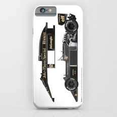 Ayrton Senna, Lotus 98T-Renault, 1986 Slim Case iPhone 6