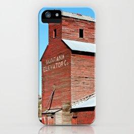 Montana Grain Elevator iPhone Case