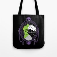 bride Tote Bags featuring Bride by Buby87