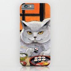 Sushi Cat- Big Fred  iPhone 6s Slim Case
