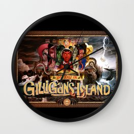 The Seven Deadly Sins of Gilligan's Island Wall Clock