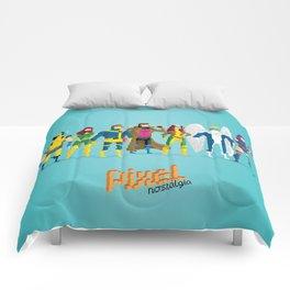 Pixel Mutants Comforters