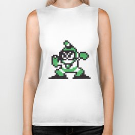 bubble man Biker Tank