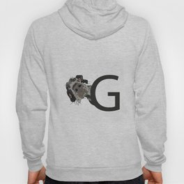 G is for Great Dane Dog Hoody