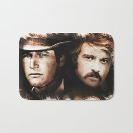 Butch and Sundance Bath Mat