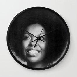 Roberta Flack - Black Culture - Black History Wall Clock
