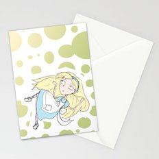 Alice Falling Stationery Cards