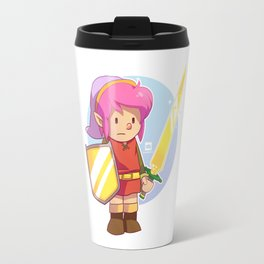 Pink Link Travel Mug
