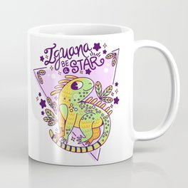 Iguana be a star Coffee Mug