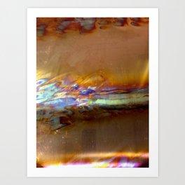 copper blaze Art Print