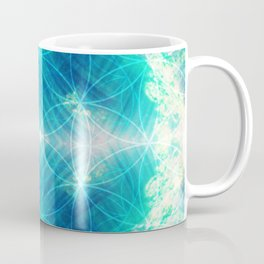 Hawaiian Oceanic Flower Of Life Coffee Mug