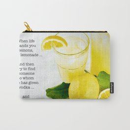 Lemonade And Vodka Carry-All Pouch