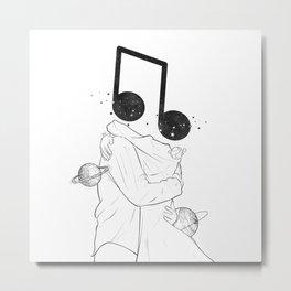 The music love. Metal Print