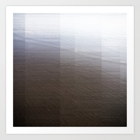 Black Sands I Art Print