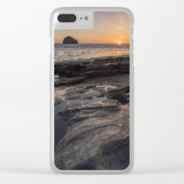 Magical Sunset II Clear iPhone Case