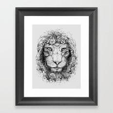 King of Nature Framed Art Print