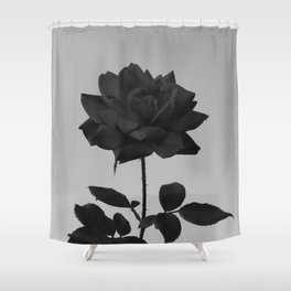 -Vibrant Darkness Shower Curtain