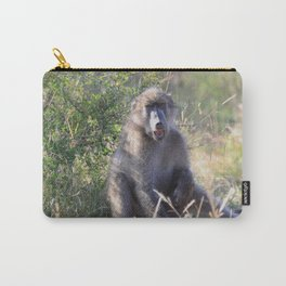 """""""Hey, whassup,"""" said the Baboon Carry-All Pouch"""
