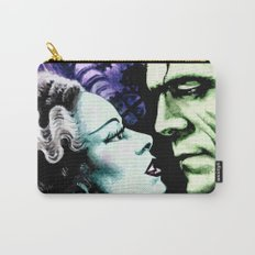 Bride of Frankenstein Monsters in Love Carry-All Pouch