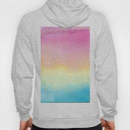 Pansexual Watercolor Wash Hoody