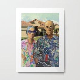 Florida Invasives Metal Print