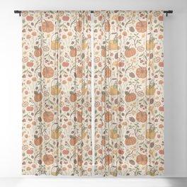 Autumn Dreaming Sheer Curtain
